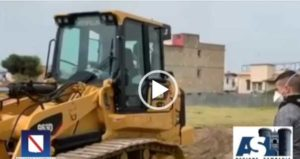 Covid Hospital di Napoli, la costruzione in timelaps [VIDEO]