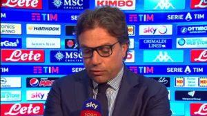 """Cristiano Giuntoli: """"E' un periodo difficile per tutti. Mili"""