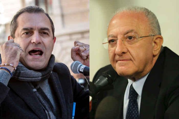 Incontro tra De Luca e De Magistris, iniziative per il rilancio di Napoli e della Campania