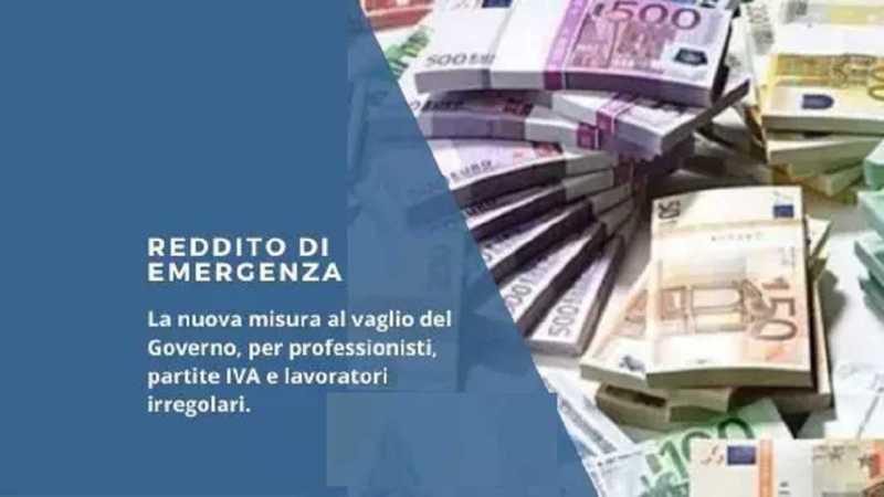 Reddito di emergenza fino a 800 euro, i requisiti
