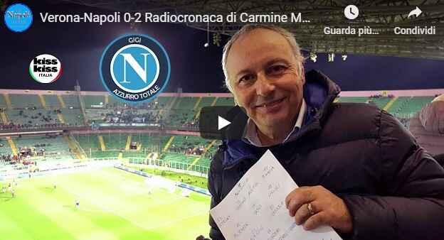 """Verona-Napoli, i gol raccontati da Carmine Martino: """"Lozano, una liberazione"""" [VIDEO]"""