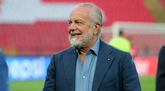 Il Napoli non si ferma, la richiesta di De Laurentis alla squadra: vinciamole tutte!