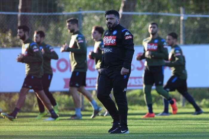 SSC Napoli, il report dal Training Center: squadra divisa in due gruppi