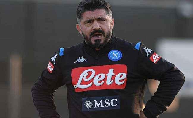 Napoli-Milan, niente ritorno al 4-3-3. Gattuso non cambia modulo