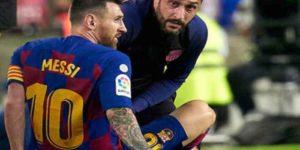 Verso Barcellona Napoli: l'infortunio di Messi diventa un mi