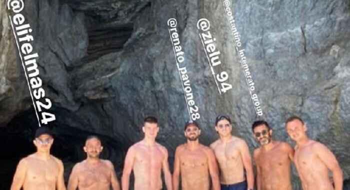 Lobotka si gode il sole di Capri. Altri due azzurri con lui [FOTO]