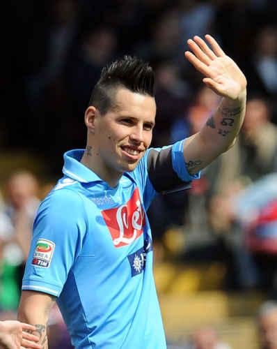 """Marek Hamsik: """"Tifosi azzurri, siate fieri di Mertens, Insigne e Callejon"""""""