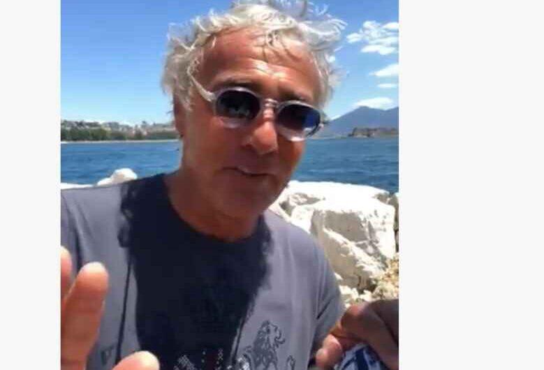 """VIDEO – Napoli, l'Ass.re Clemente stuzzica Giletti: """"Mi dici 'forza Napoli?"""""""