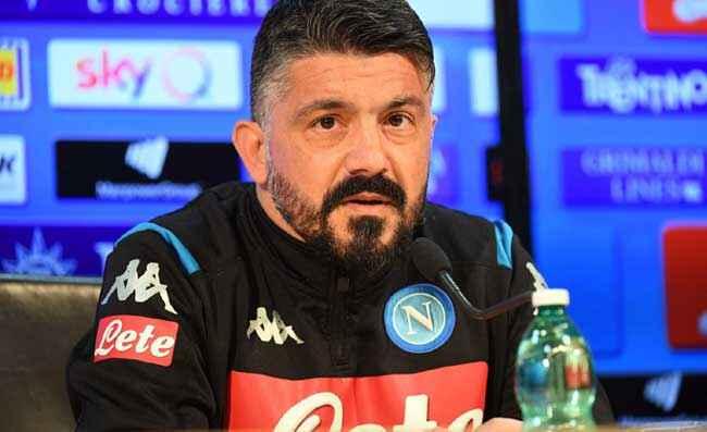 "Calciomercato Napoli, Gattuso: ""Koulibaly? Egoisticamente, vorrei restasse con noi"""