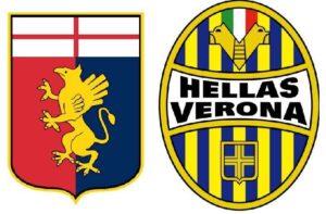 Genoa-Verona    streaming e tv    dove vedere la 38a giornata di Serie A