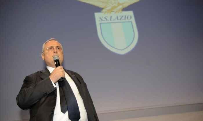 Lazio, il presidente Lotito è una furia: squadra in ritiro lungo