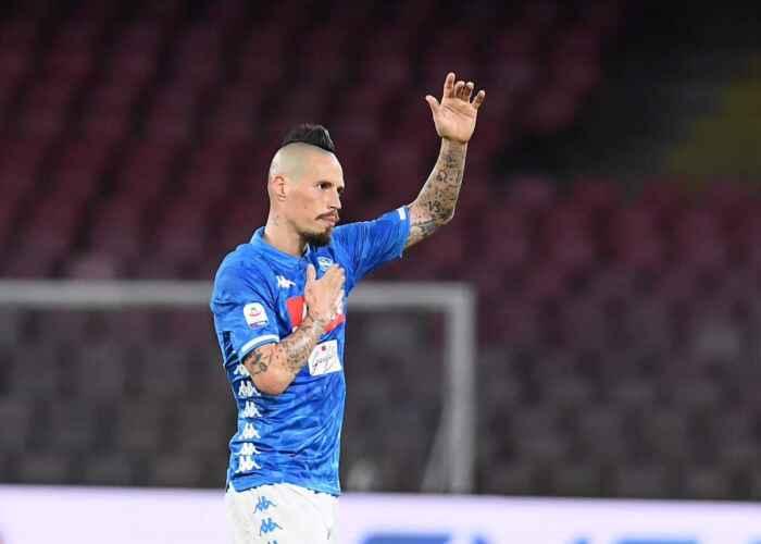 """Verso Napoli-Milan – Hamsik posta una foto con Gattuso: """"Forza Napoli"""""""