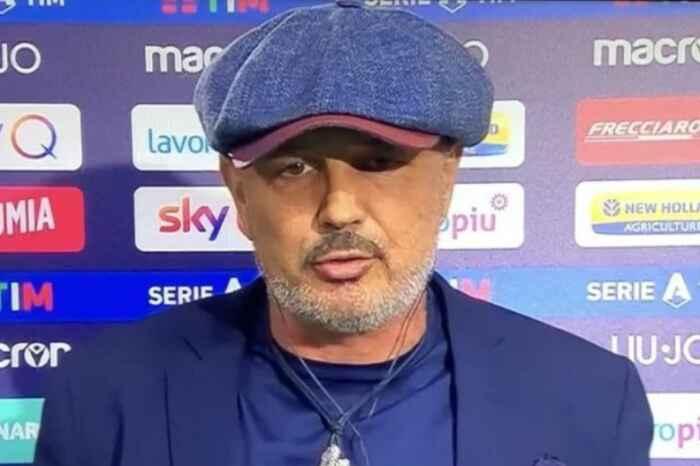 """Bologna, mister Mihajlovic: """"Ho sbagliato nel primo tempo. Invidio l'età di Gattuso"""""""