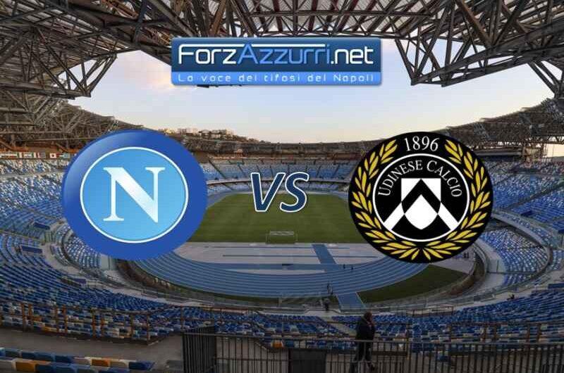 Napoli-Udinese: le formazioni ufficiali della partita