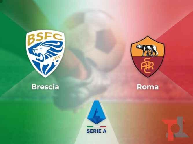 Brescia-Roma, streaming e tv: dove vedere la 32a giornata di Serie A