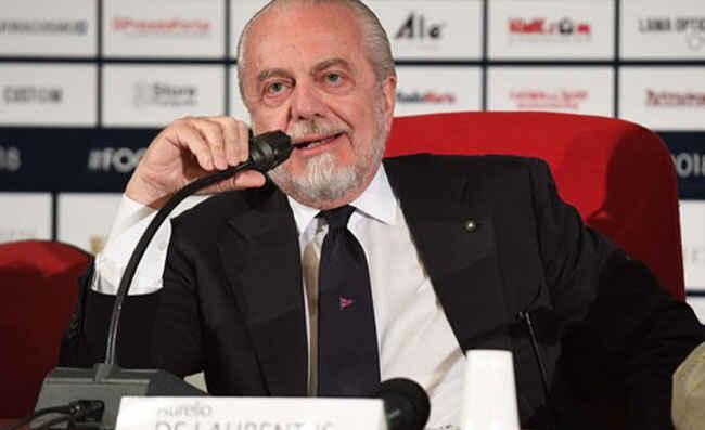 """De Laurentiis a KK Napoli: """"Osimhen incantato da Partenope, vi svelo il numero di maglia che ha scelto"""""""