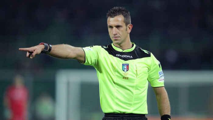 Serie A – Per Atalanta-Napoli c'è Doveri, l'arbitro della Coppa Italia