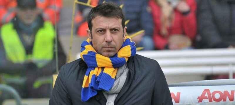 """Parma, D'Aversa: """"Napoli partita dura, dobbiamo andare in campo al 100%. Niente è impossibile"""""""