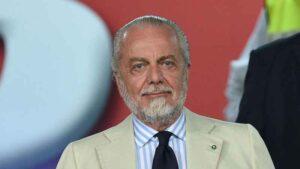 Il Napoli vince a Parma    arriva il commento di De Laurentiis