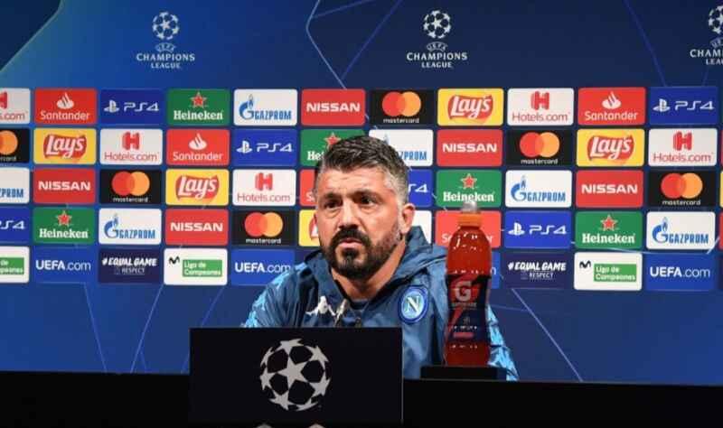 """Gattuso: """"Partita dura, sarà come scalare l'Everest. Insigne in campo solo se è al 100%"""". Ospina: """"Vogliamo raggiungere un obiettivo importante"""""""