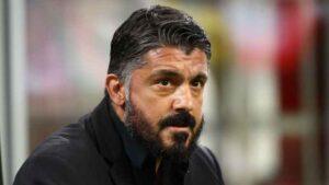 """Benevento Napoli, Gattuso: """"Primo tempo da dimenticare, lunghi e palleggio sterile"""""""
