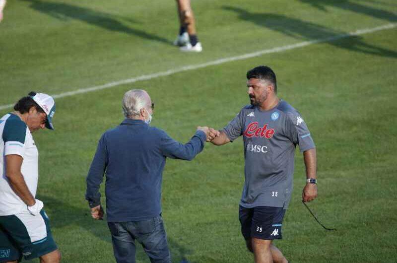 Napoli, De Laurentiis: domenica la decisione definitiva, fondamentale il risultato contro il Parma