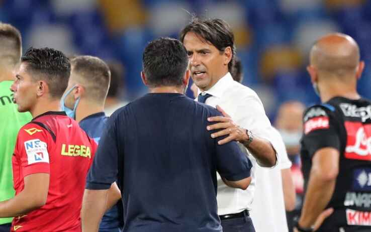 GdS – Napoli-Lazio: finale teso, Gattuso voleva aggredire un laziale
