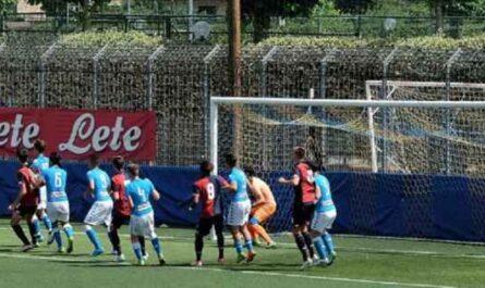 Napoli giovanile - Doppia amichevole con la Cavese con U15 e U16.