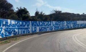 """Napoli, la """"Curva A"""" lancia un messaggio alla squadra: """"Rispettate la nostra assenza con il vostro impegno"""""""