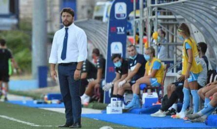 """Giuseppe Marino, Coach del Napoli Femminile: """"Lo spirito di reazione non basta"""""""