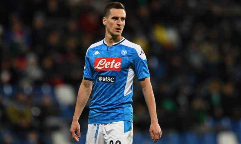 Calciomercato Napoli – Roma, Fiorentina o Premier: Milik vuole andar via già a gennaio