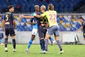 Covid 19, Genoa: tre che hanno giocato contro il Napoli sono negativi