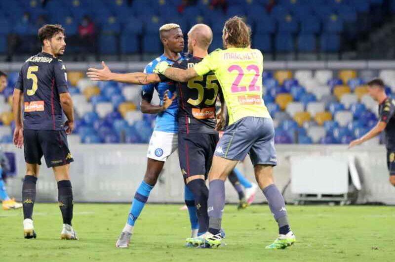 Covid-19, Genoa: tre che hanno giocato contro il Napoli sono negativi