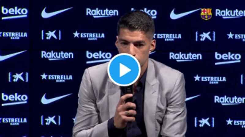 VIDEO – Suarez parla dopo la bufera sull'esame a Perugia