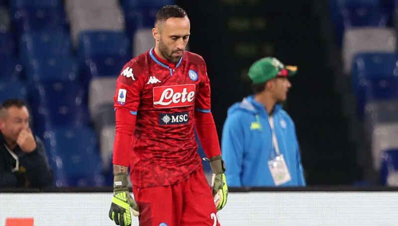 Napoli, infortunio Ospina: tegola per Gattuso, il portiere può saltare 4 partite