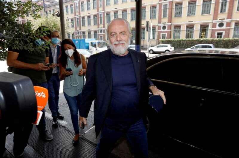 De Laurentiis: guai in vista per il patron azzurro, Codacons pronto all'azione legale