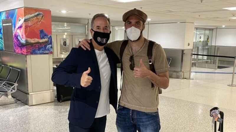 Dall'Argentina: Gonzalo Higuain positivo al Coronavirus