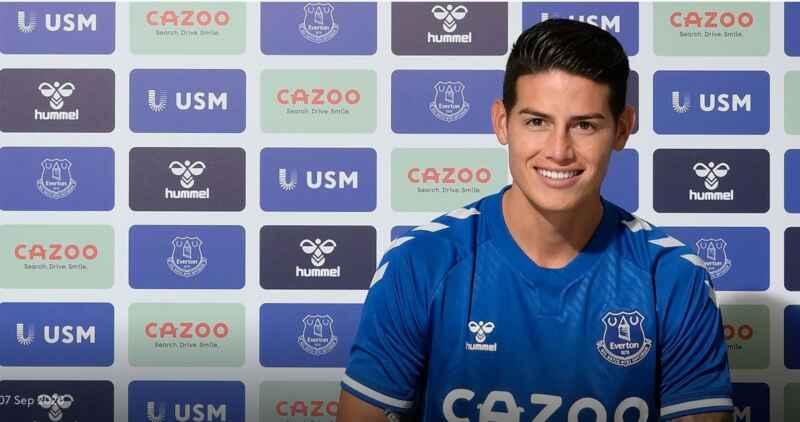 UFFICIALE – James Rodriguez è un calciatore dell'Everton