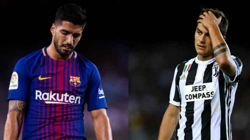 Dybala nel mirino del Barcellona, Suarez più super conguaglio