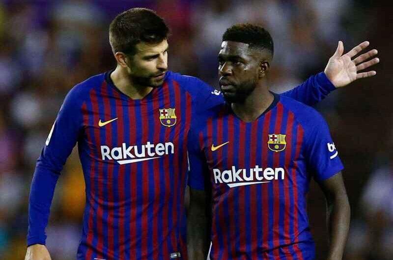 Umtiti in uscita dal Barcellona, anche l'Inter tra le pretendenti