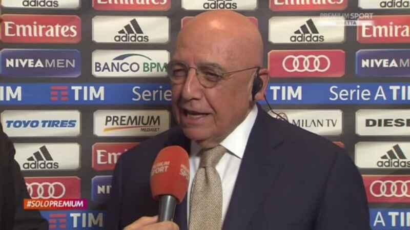 """Galliani: """"Le normative della Uefa vanno applicate! Esemplare il Milan"""""""