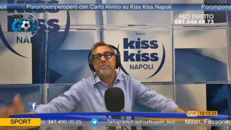 """Alvino, morte Maradona: """"Cruciani e Mughini? Li possiamo fermare soltanto con l'indifferenza"""""""