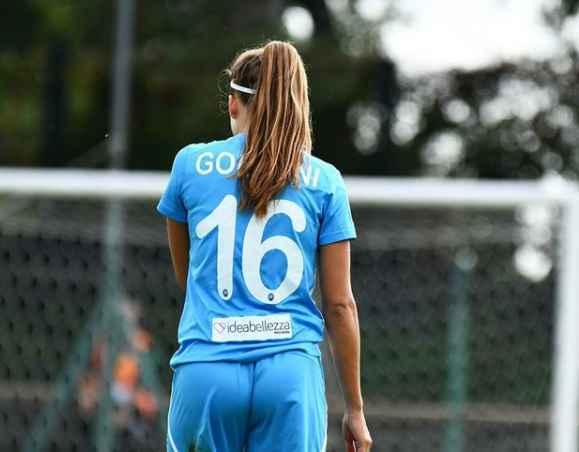 NAPOLI FEMMINILE – Eleonora Goldoni testimonial del Giro d'Italia