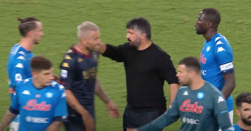 Napoli, caso Genoa: preoccupa positività di Behrami, ha abbracciato Gattuso