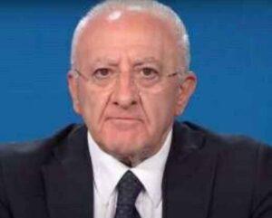 "De Luca dura replica a Giletti: ""Esposte cifre e tabelle false sulla Campania"""