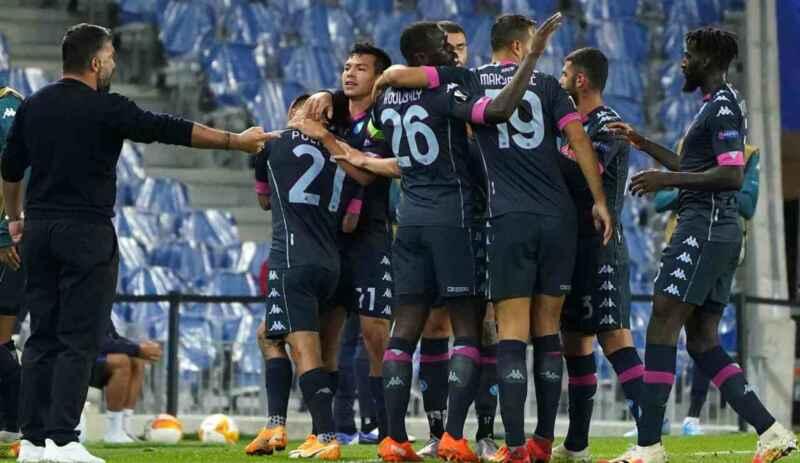 Rijeka-Napoli 1-2: gli azzurri tornano al successo ma che sofferenza