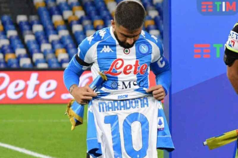 """AZ-Napoli, Insigne: """"Gara dura, in Europa niente è facile. Maradona ha dato tanto ai napoletani"""""""