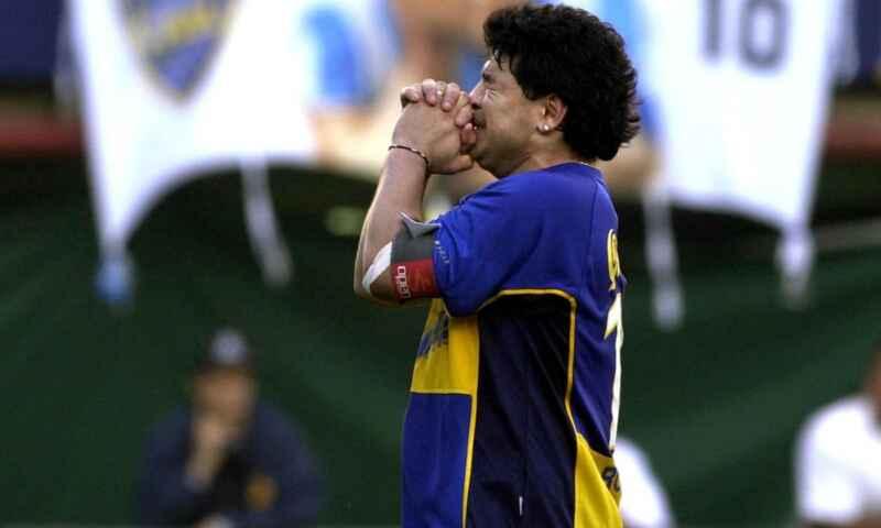 """FOTO – Spettacolo in Argentina, la """"Bombonera"""" si prepara per l'omaggio a Diego!"""