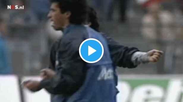 """VIDEO – Pistocchi al Napoli: """"Mettere questo filmato di Maradona prima di ogni partita degli azzurri"""""""