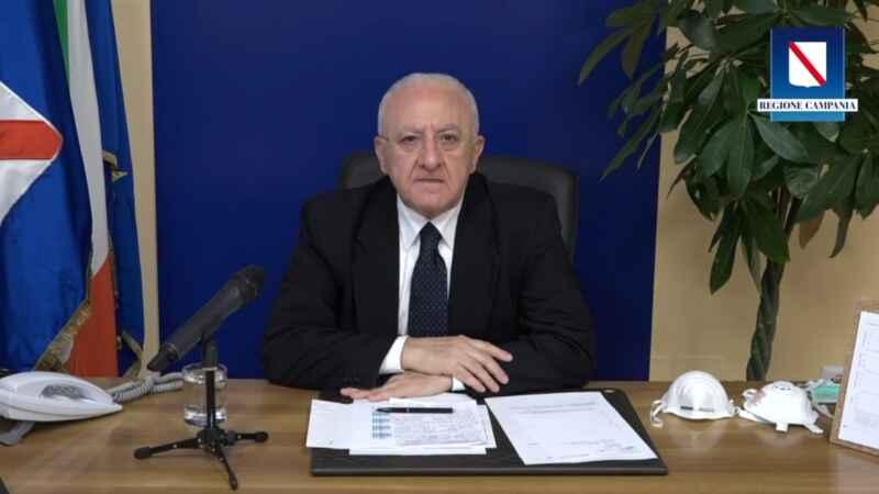 Campania, ufficiale l'arrivo di una nuova ordinanza restrittiva